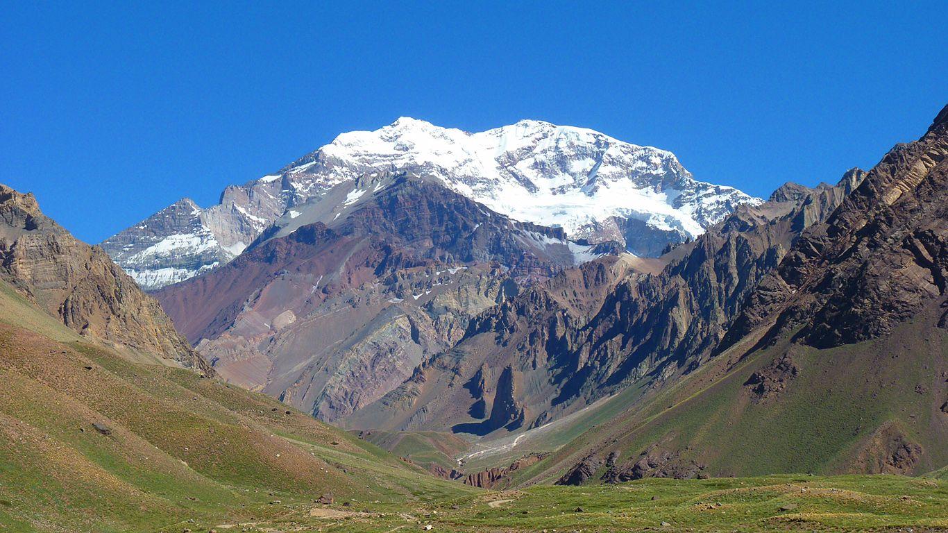 Вулкан Аконкагуа