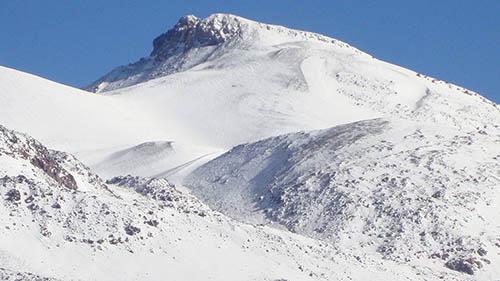 Снег Охос-дель-Саладо