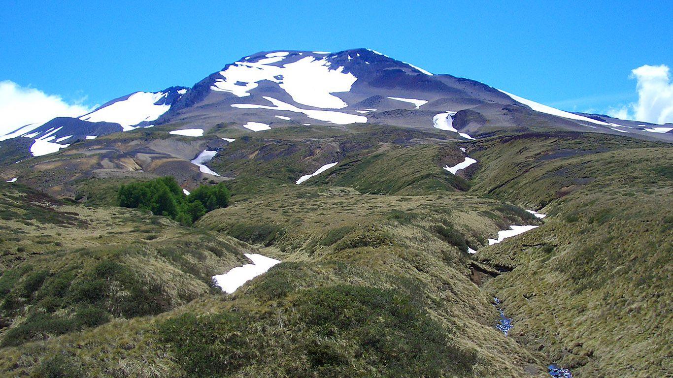 Вулкан Пуйеуэ издалека