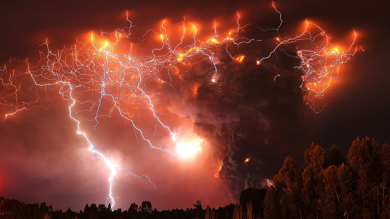 Вулкан Пуйеуэ извержение 2011 года