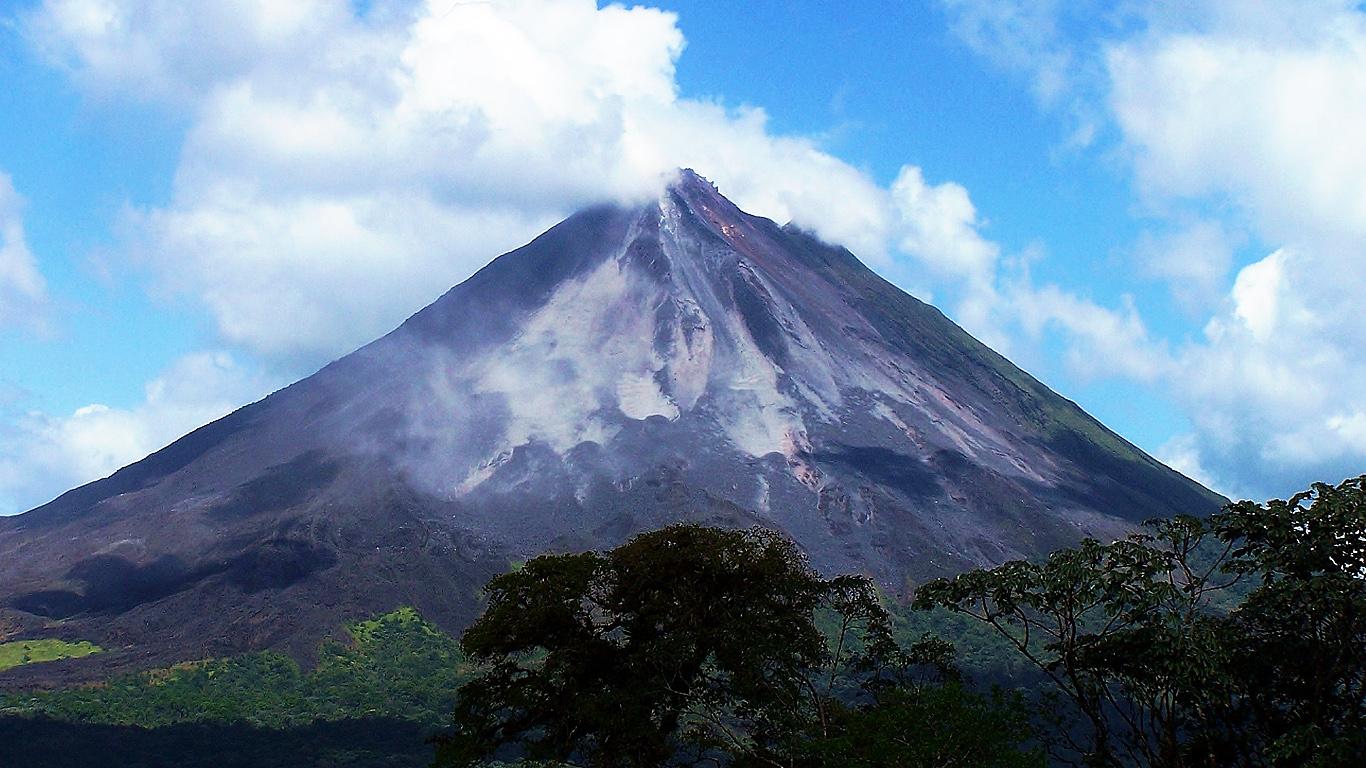 Пейзаж.Вулкан Ареналь