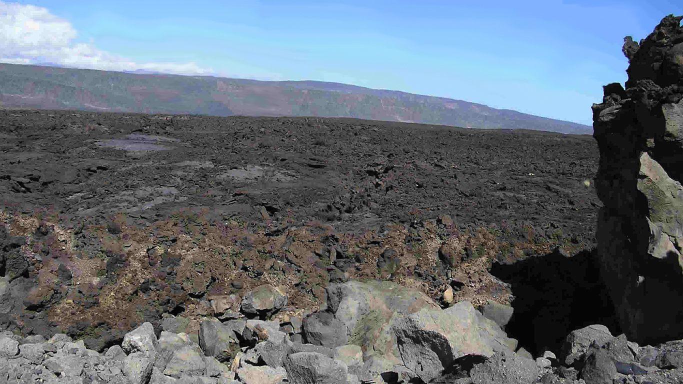 Лава.Вулкан Ардоукоба