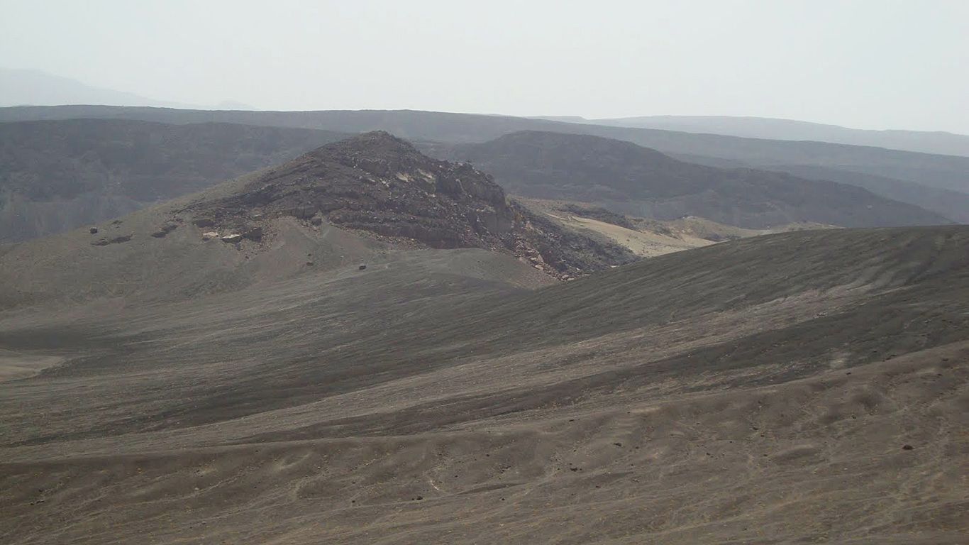 Пейзаж.Вулкан Ардоукоба
