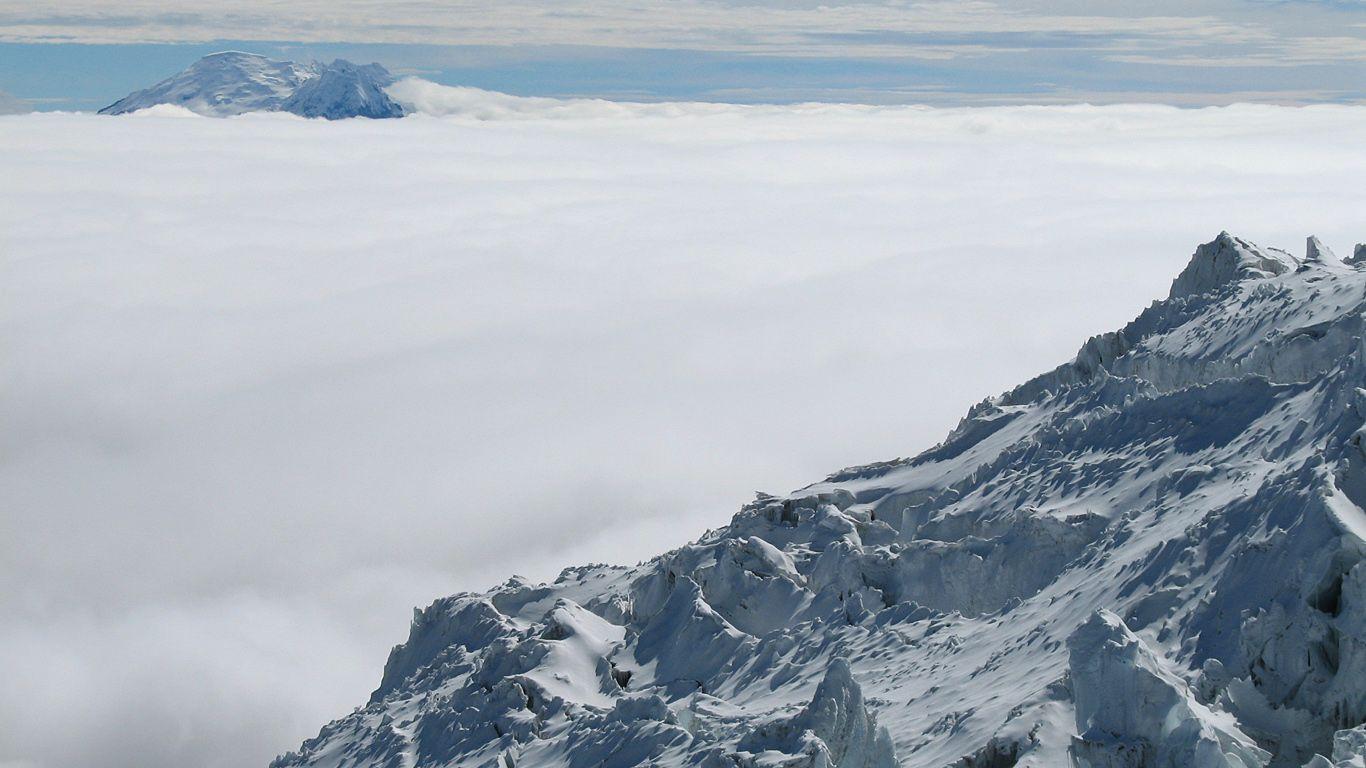 На вершине.Вулкан Антисана