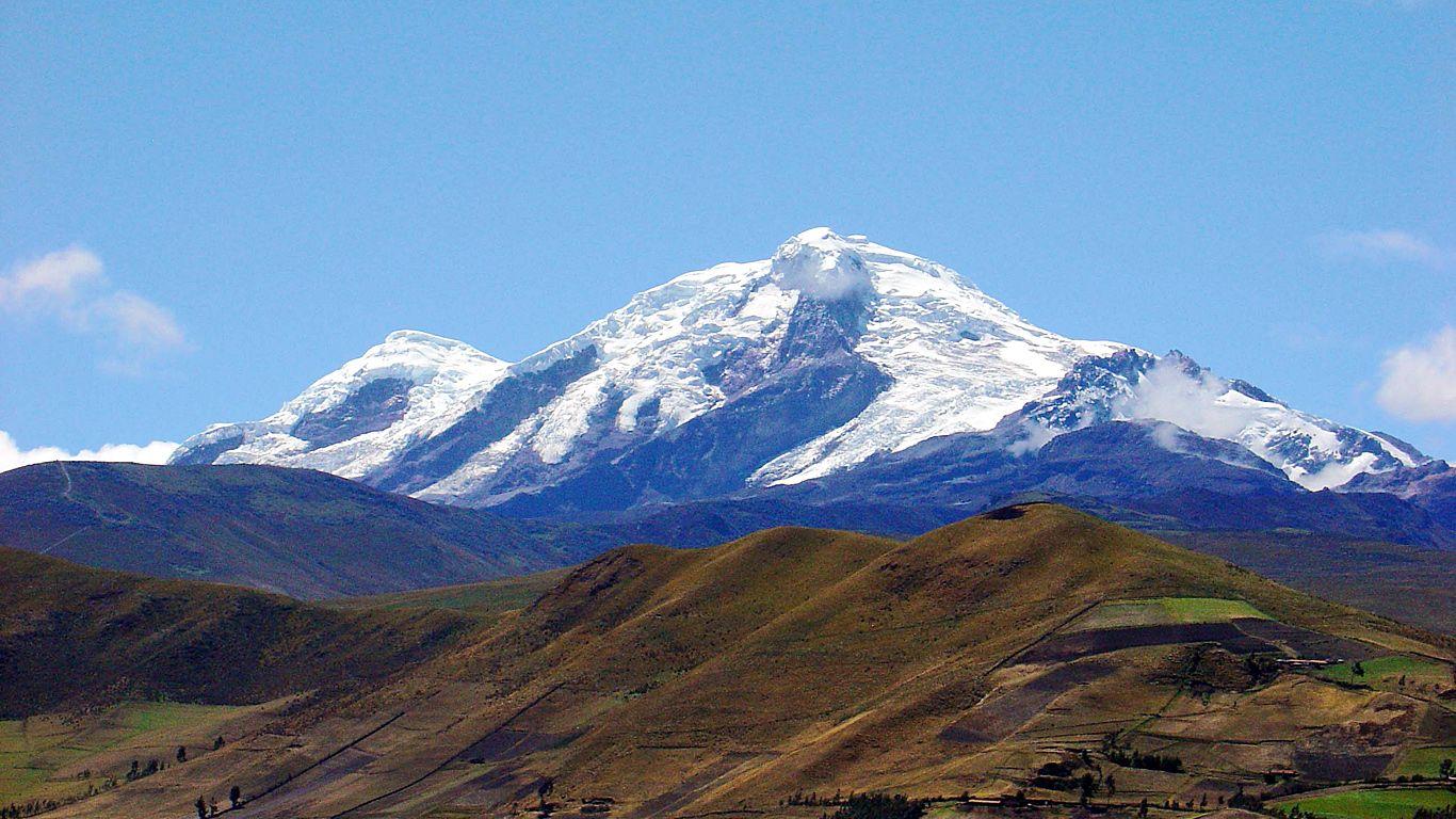 Пейзаж.Вулкан Антисана