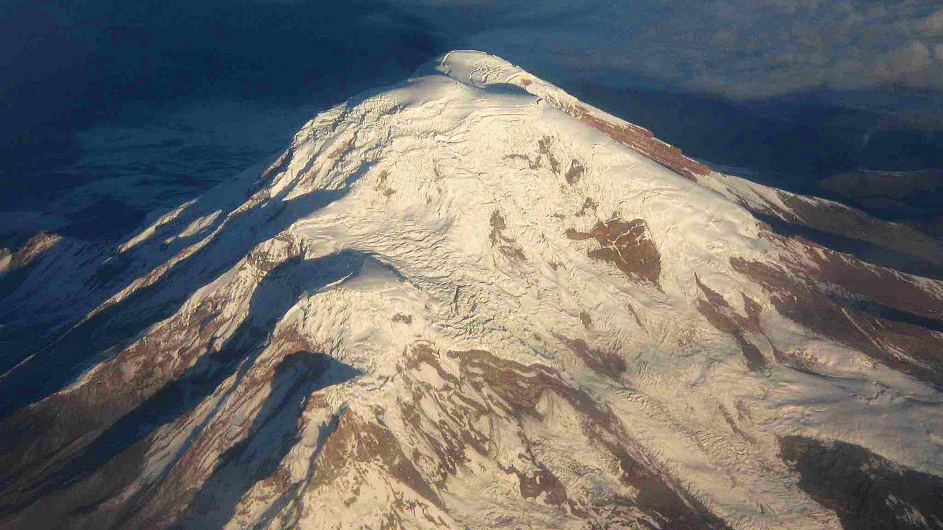 Вулкан Чимборасо с высоты