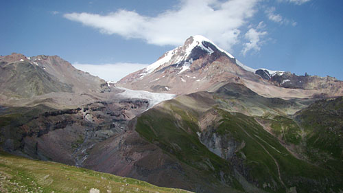 Южная сторона вулкана