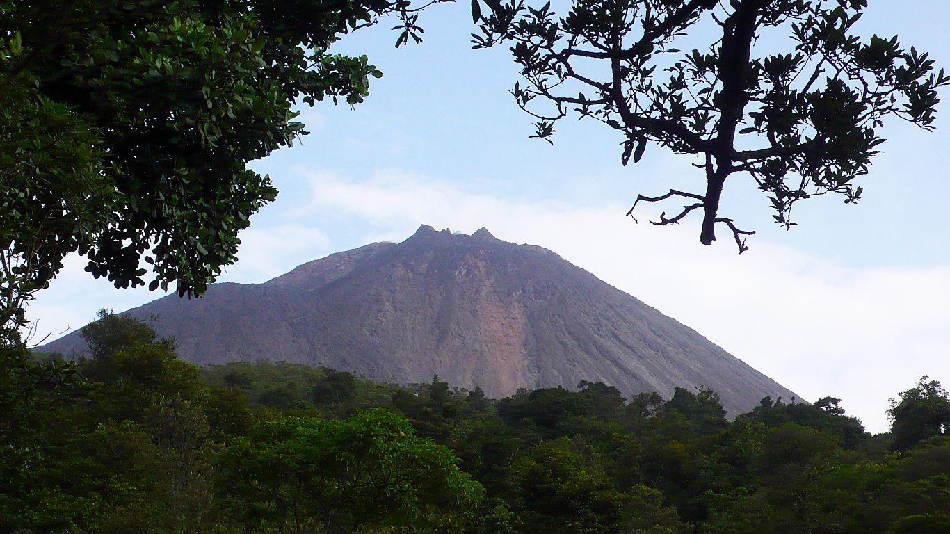 Пейзаж.Вулкан Агуа