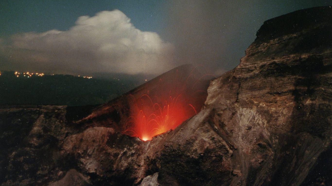 Извержение Гунунг-Батура