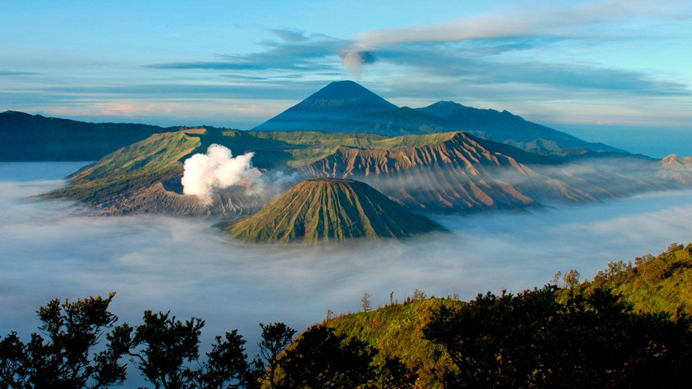 10. Гора Бромо, Индонезия