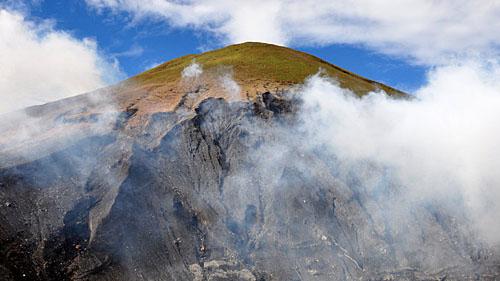 Локон около кратера