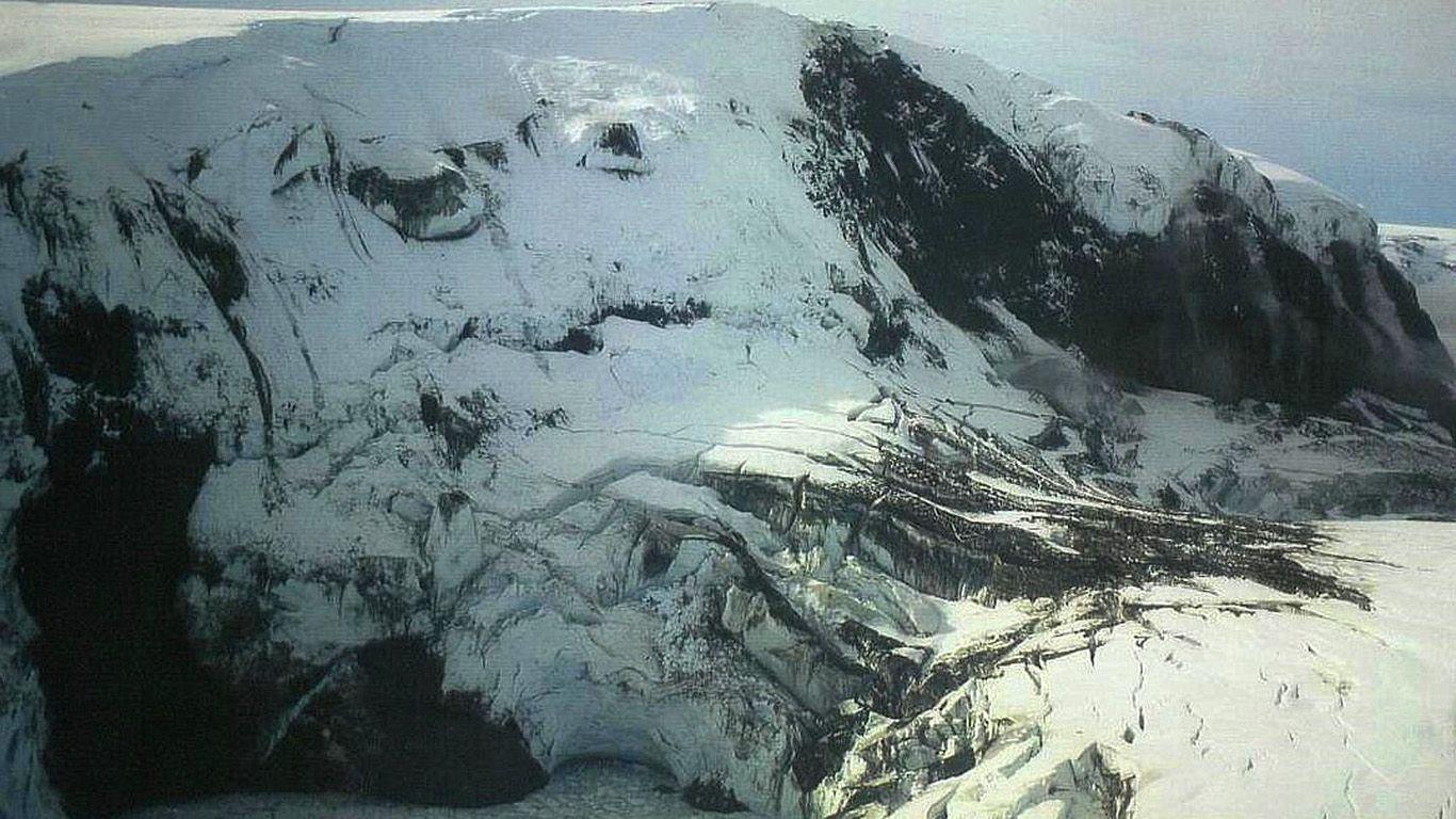 Вулкан Гримсвотн с высоты