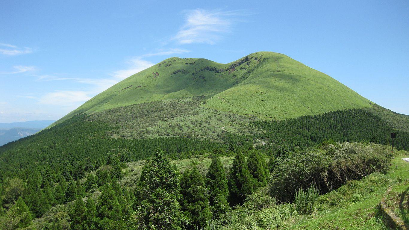 Пейзаж.Вулкан Асо