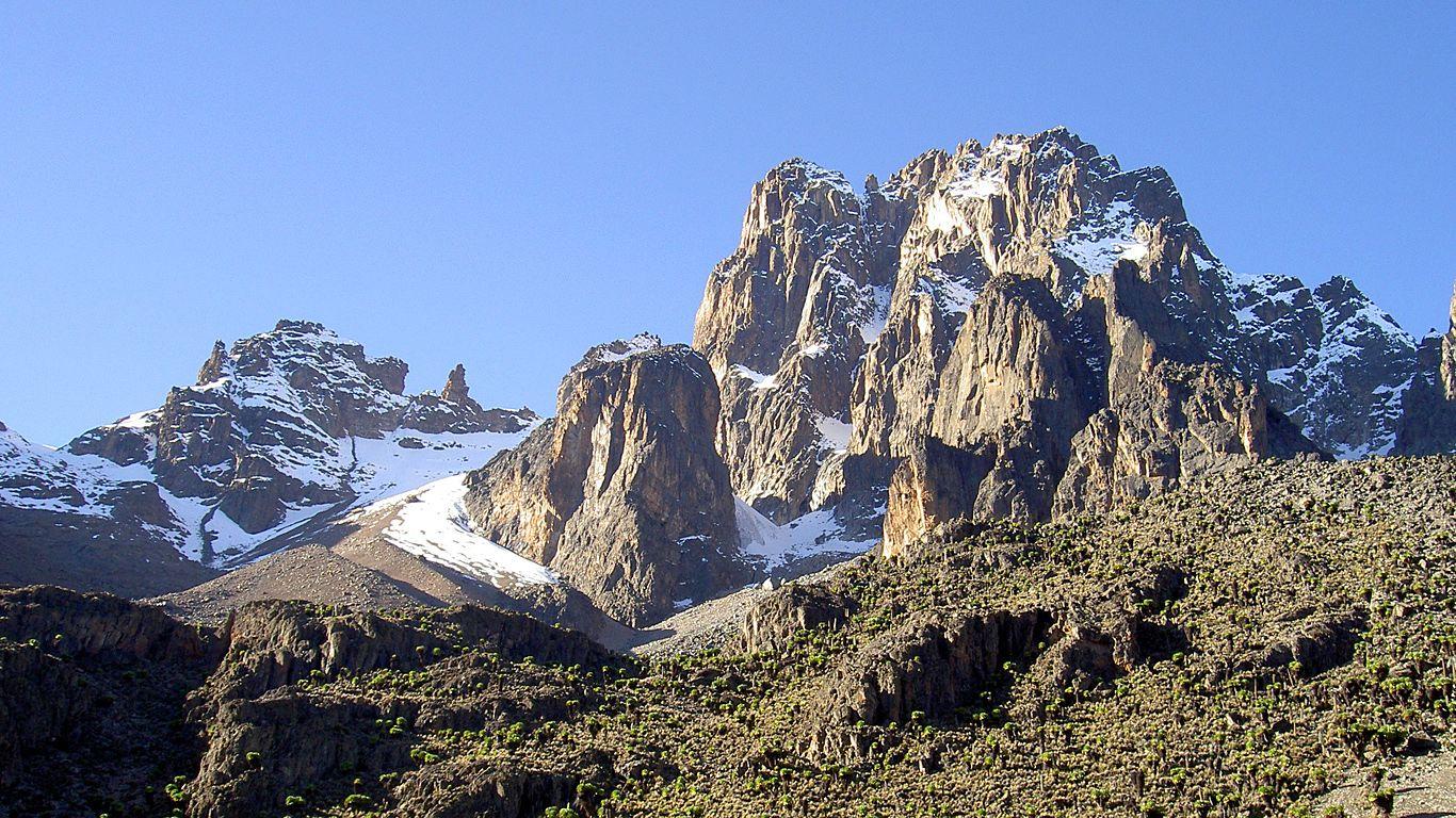 Пейзаж Вулкан Кения