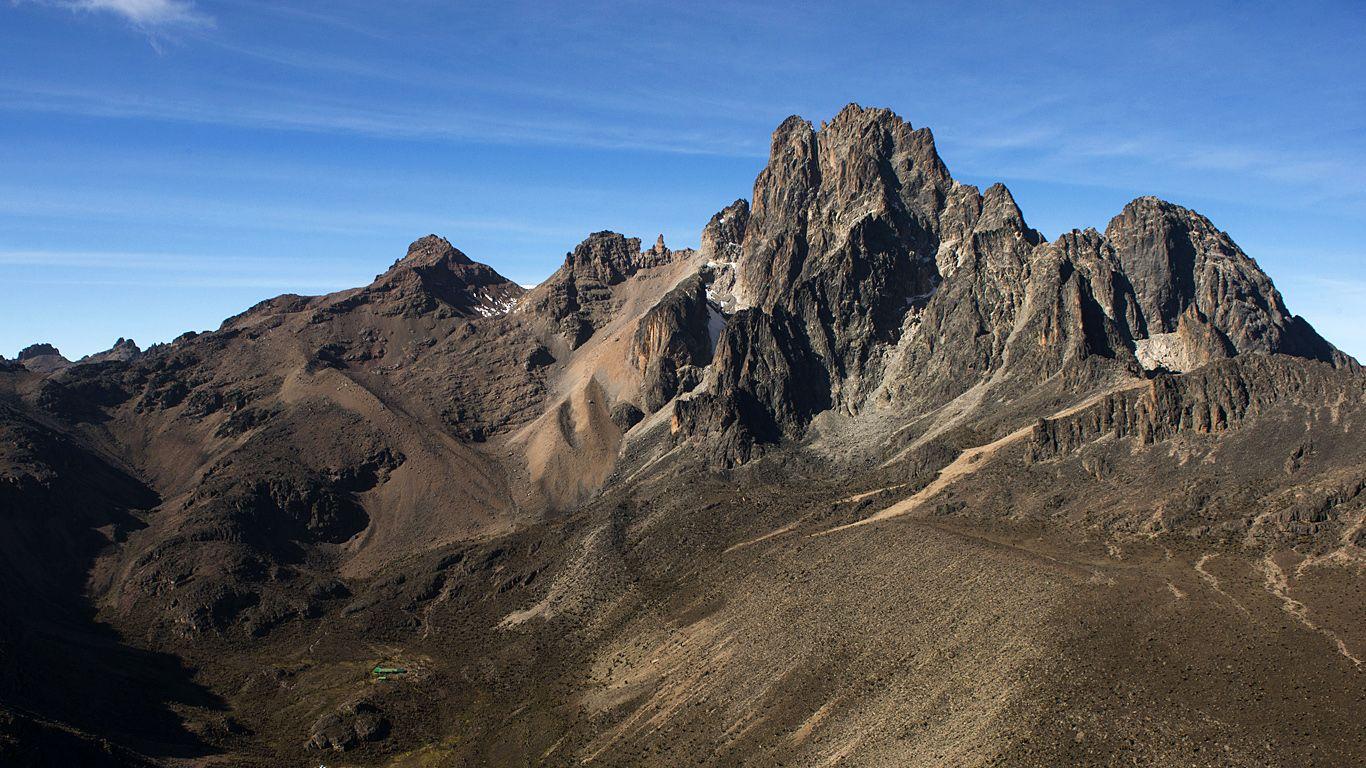 Вершины.Вулкан Кения