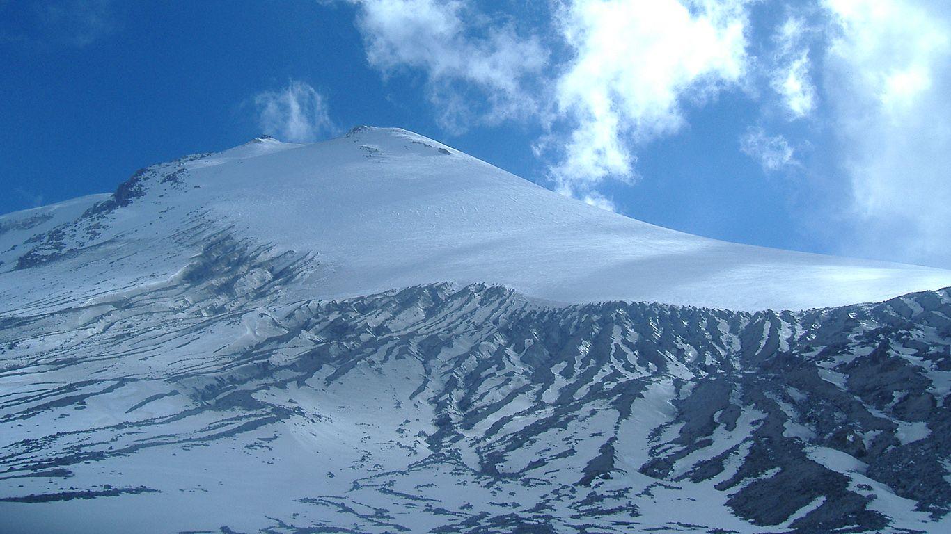 Склон.Вулкан Орисаба