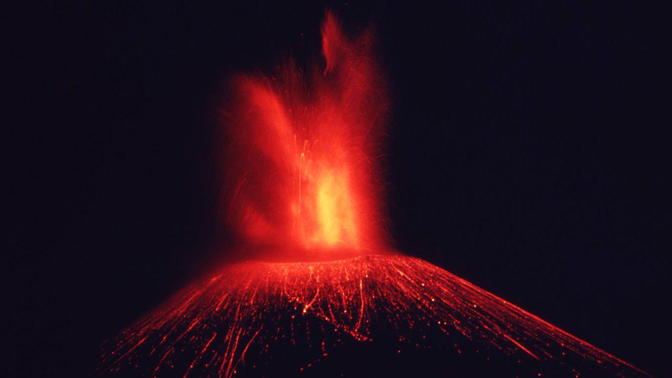 Извержение.Вулкан Парикутин