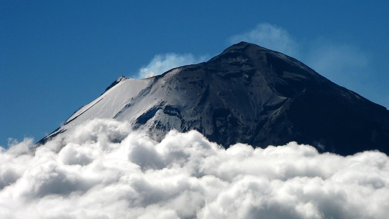 Вулкан Попокатепетль вблизи