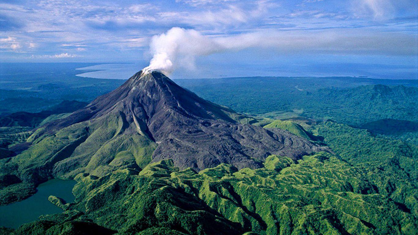 Вулкан Багана