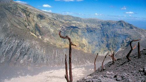 Кратер вулкана Сан-Кристобаль