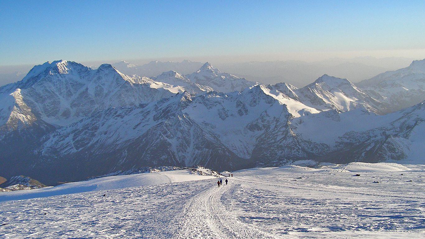 Вершины.Вулкан Эльбрус