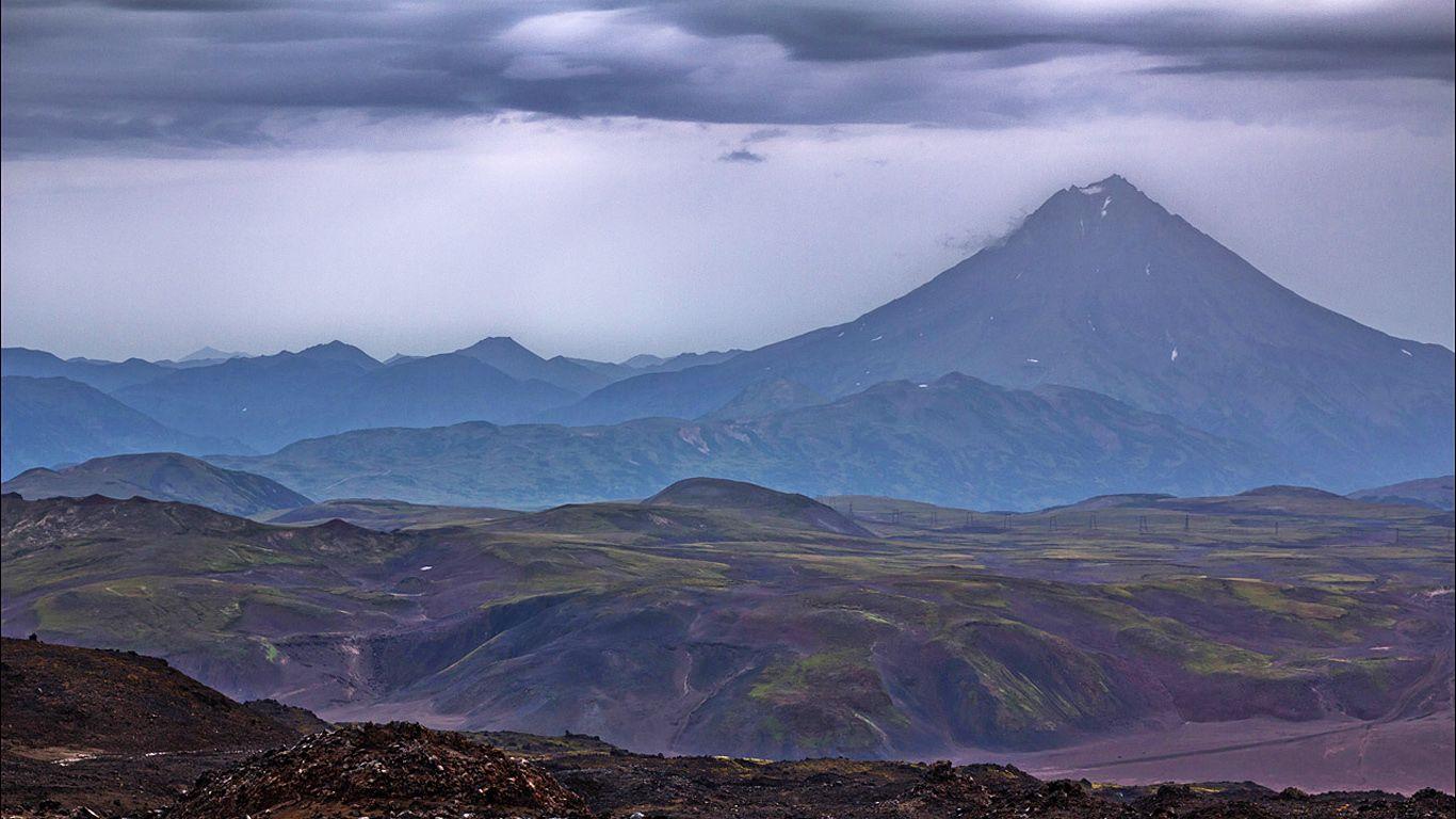 Пейзаж.Вулкан Горелый