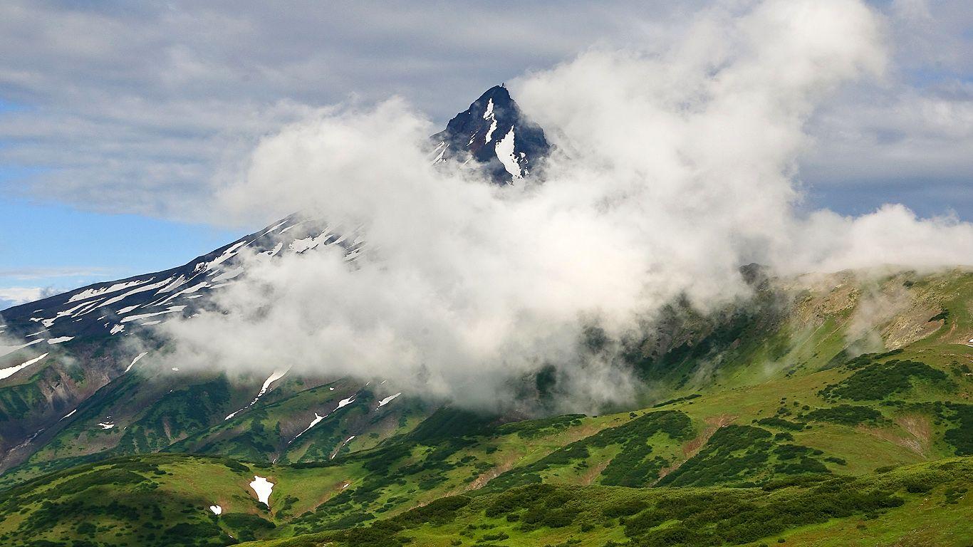 Пейзаж.Вилючинский вулкан