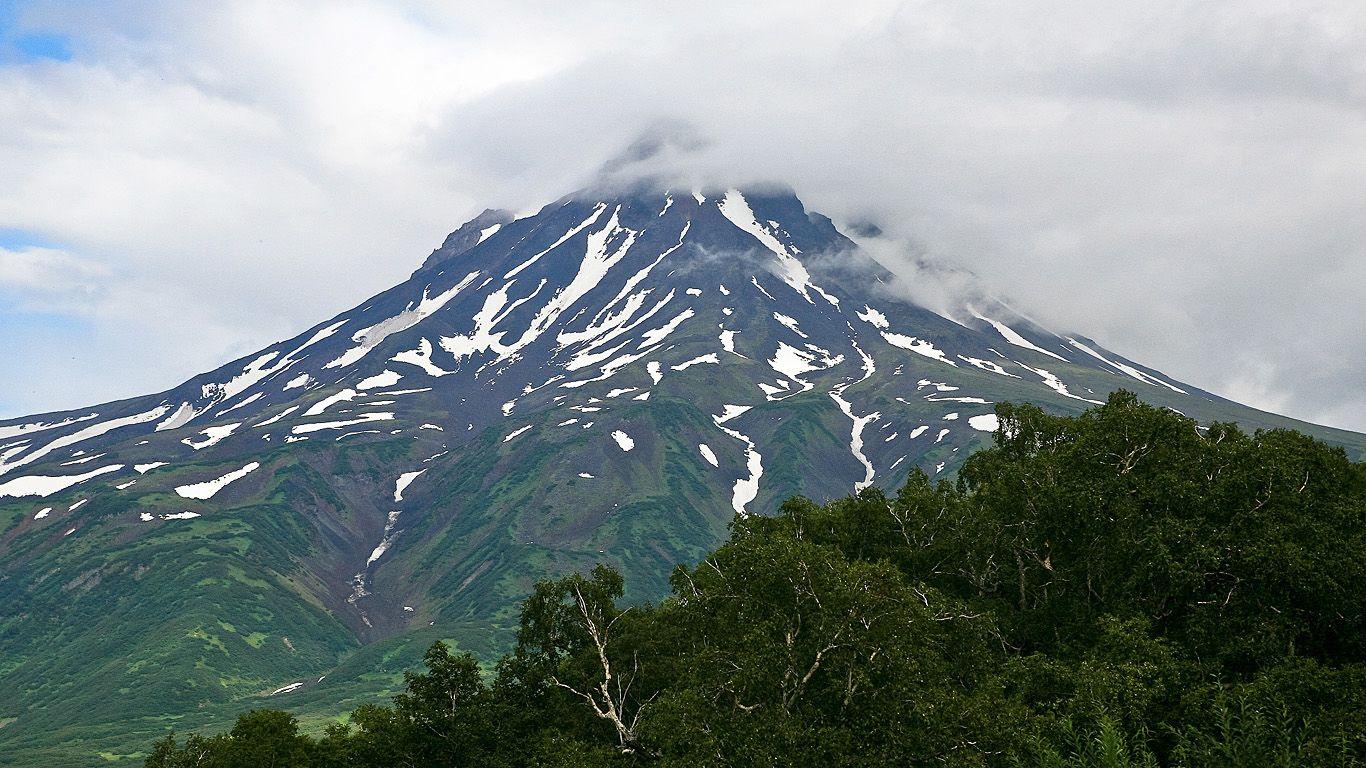 Вершина.Вилючинский вулкан