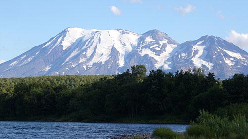 Вершины вулкана