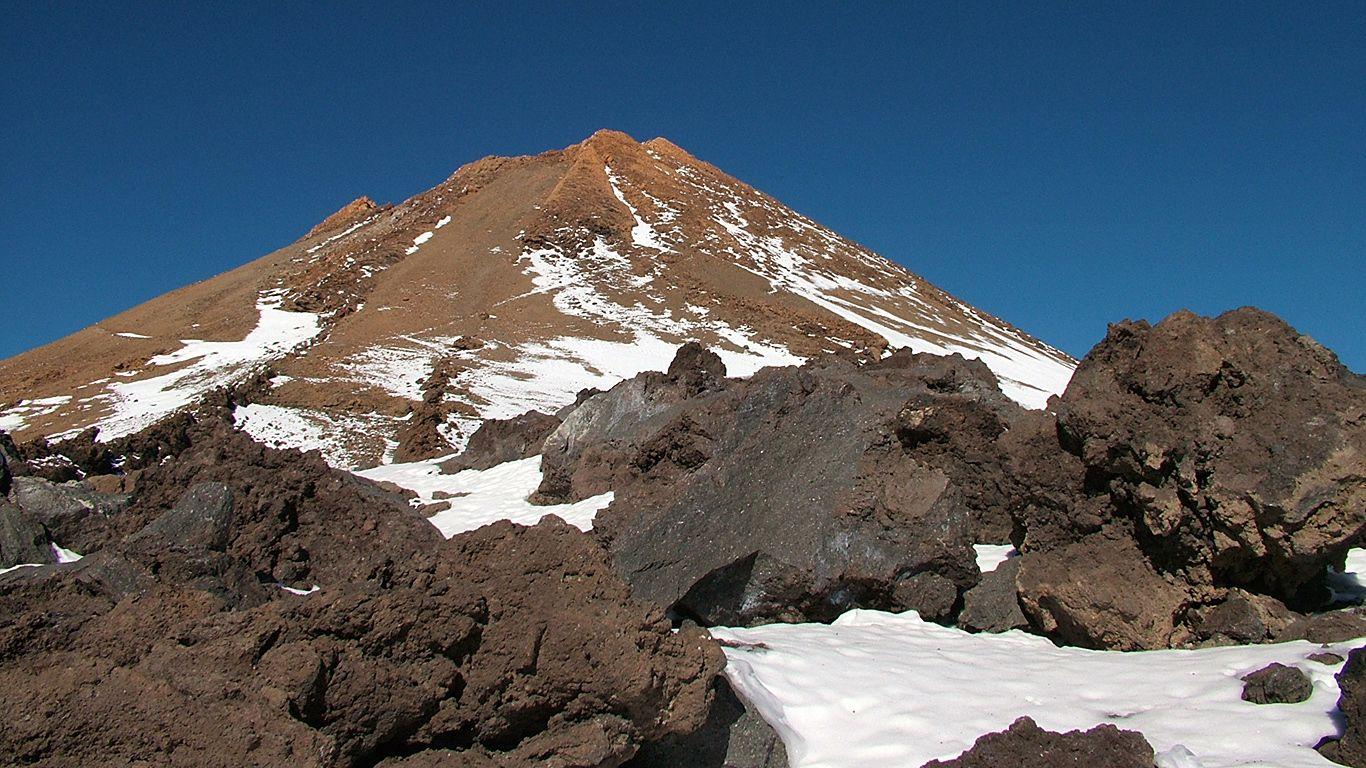 Вершина.Вулкан Тейде