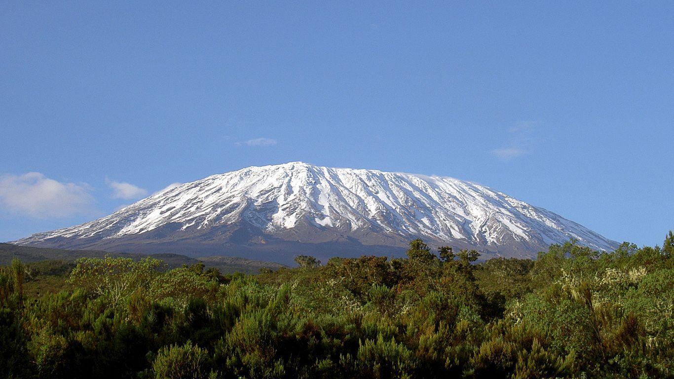 Пейзаж.Вулкан Килиманджаро