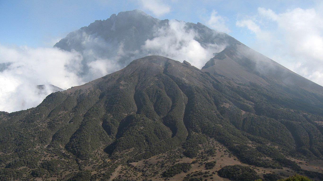 Гора.Вулкан Меру
