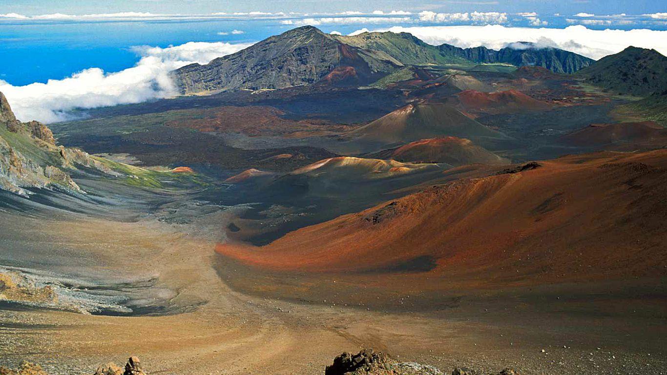 Пейзаж.Вулкан Халеакала