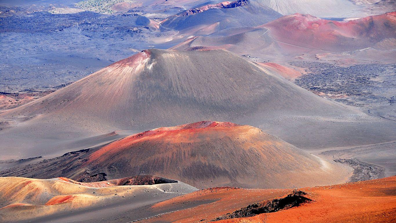 Сопки.Вулкан Халеакала