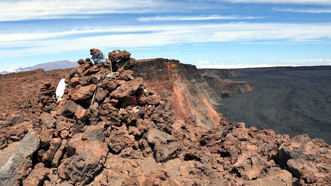 Вершина вулкана Мауна-Лоа