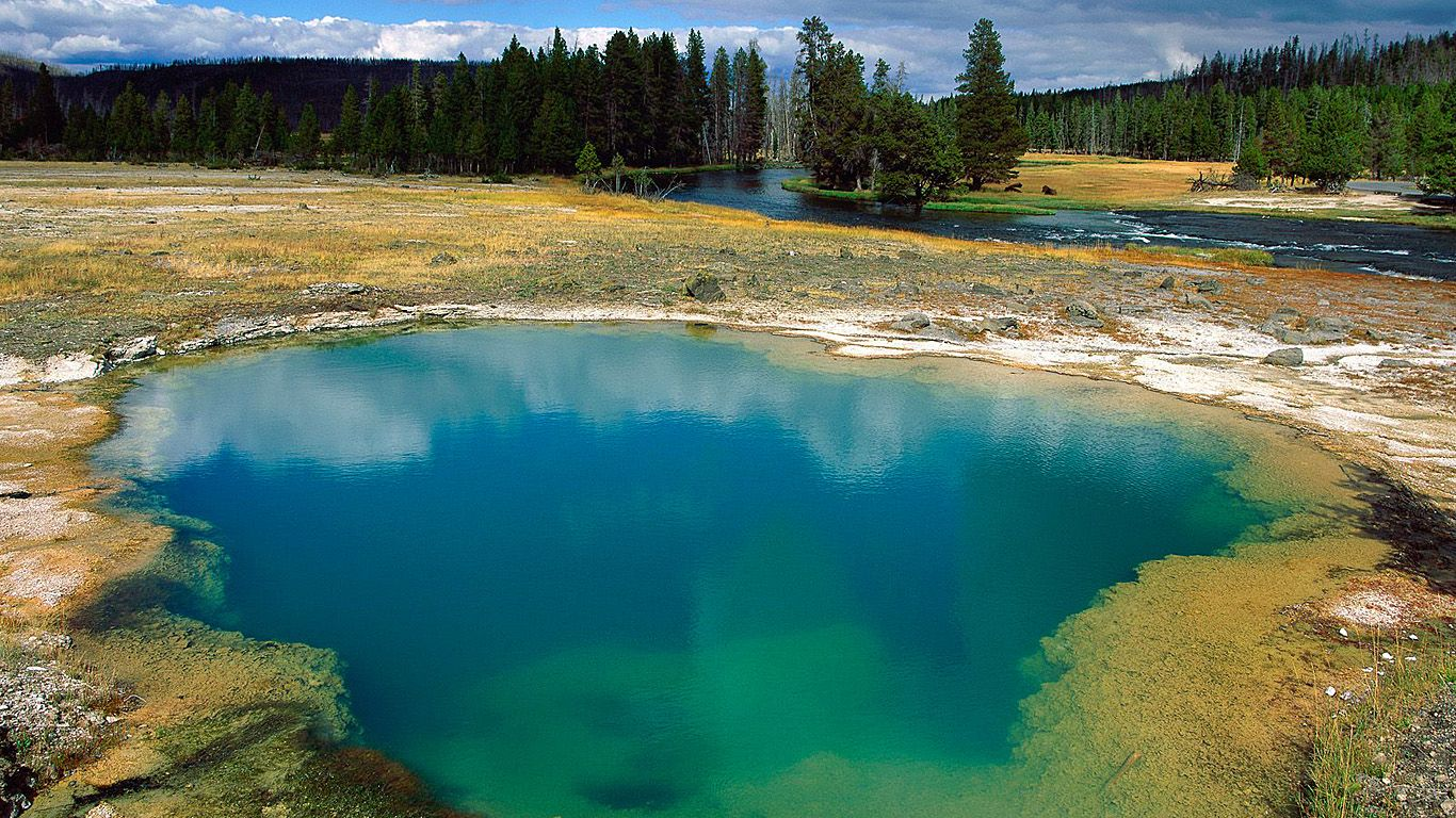 Озеро. Йеллоустонский супервулкан