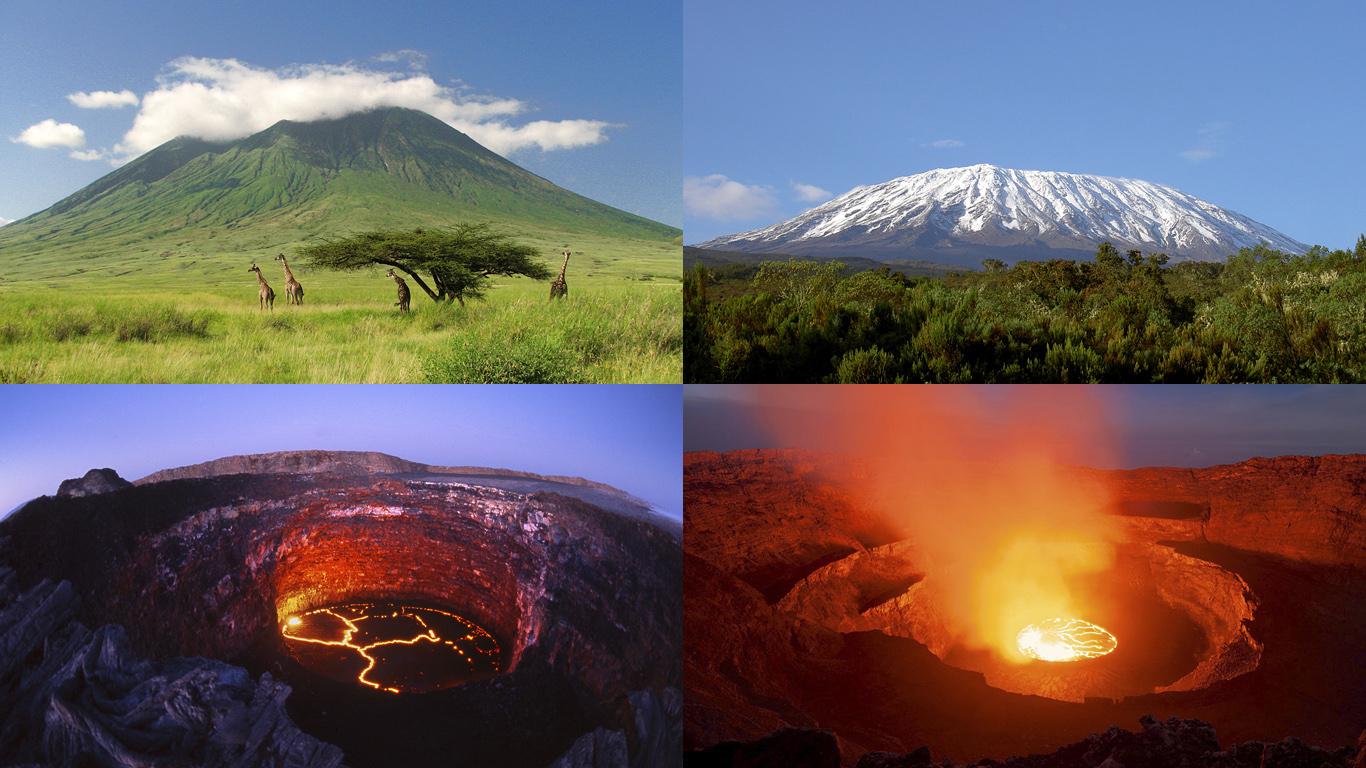 Вулканы Африки
