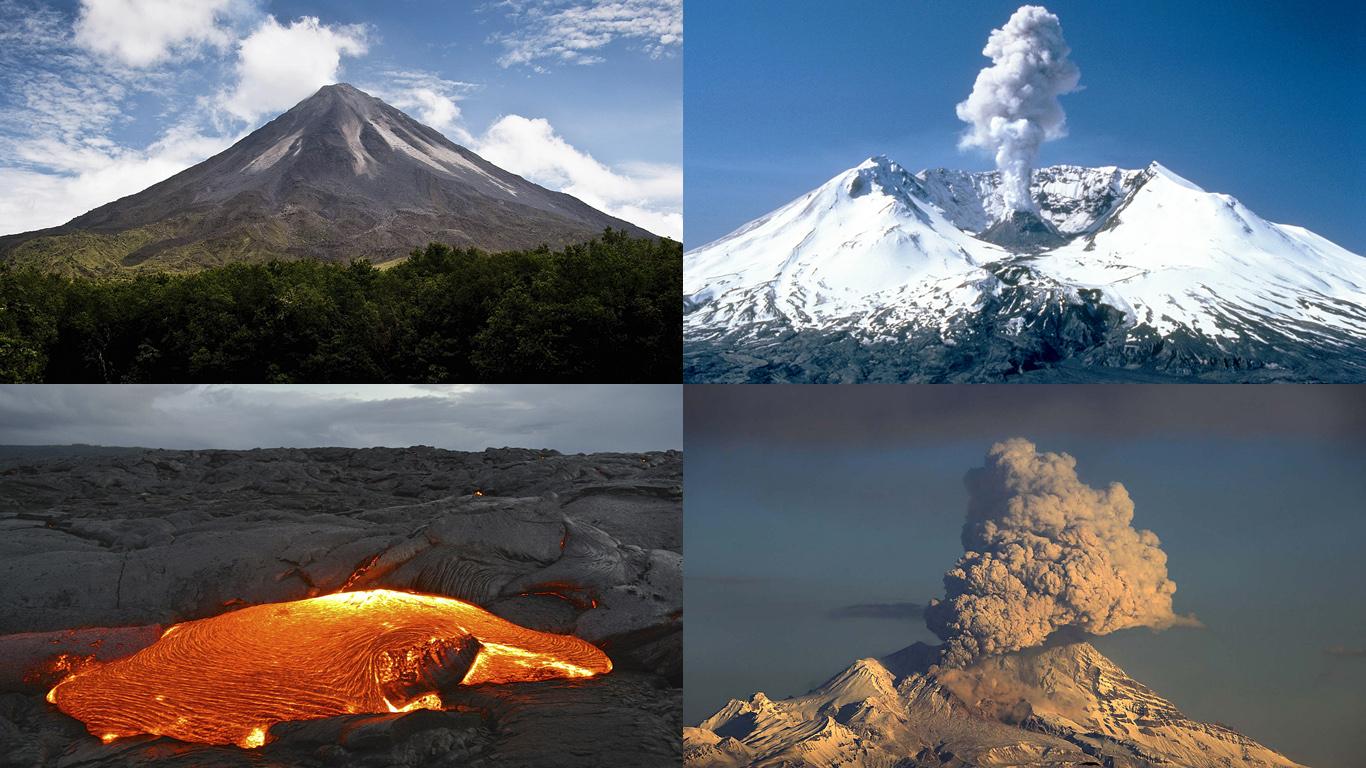 Вулканы Америки