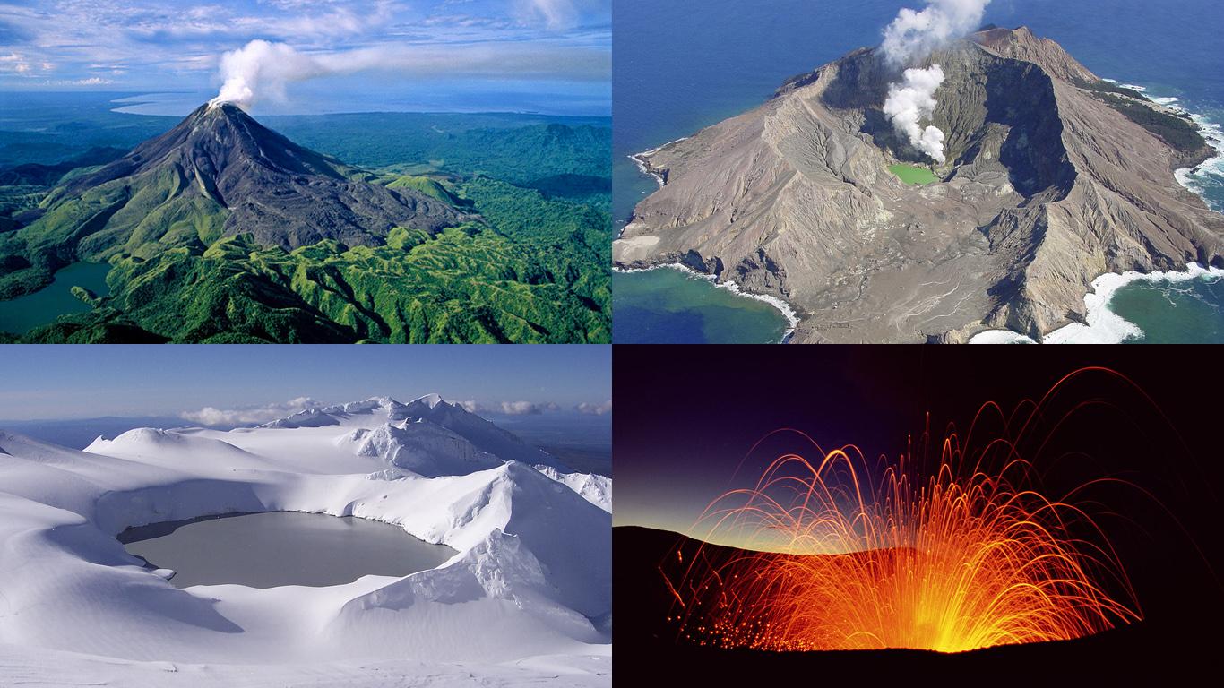 Вулканы Австралии и Океании