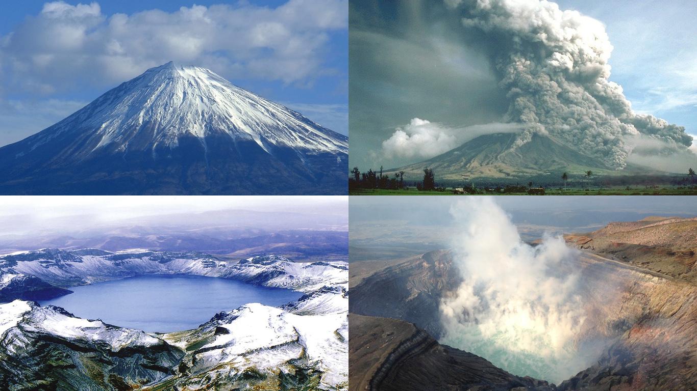 Вулканы Азии