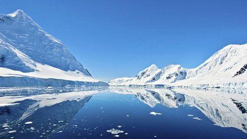 вулкан Антарктида
