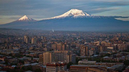 Арарат со стороны Армении