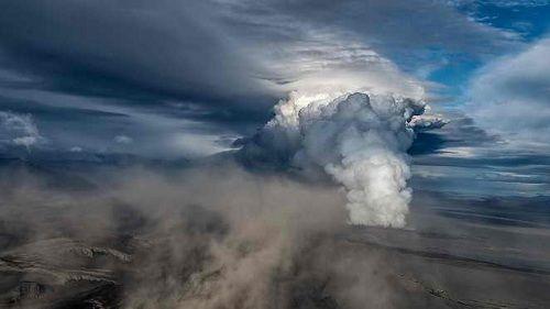 Извержение подводного вулкана