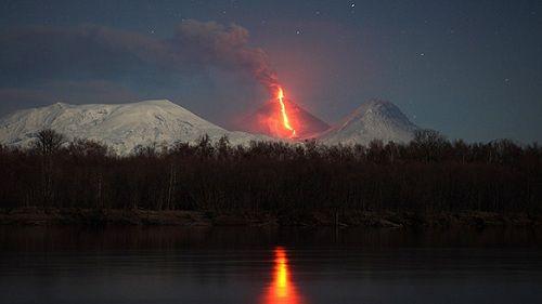 Извержение вулкана Бардарбунга