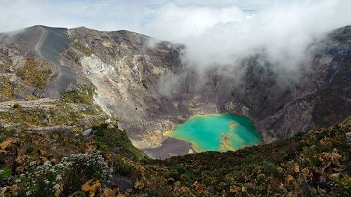 Костарикский Вулкан Ирасу