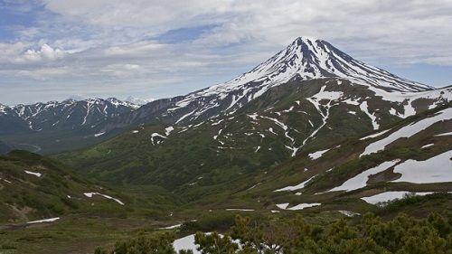 Панорама вулкана Вилючинский