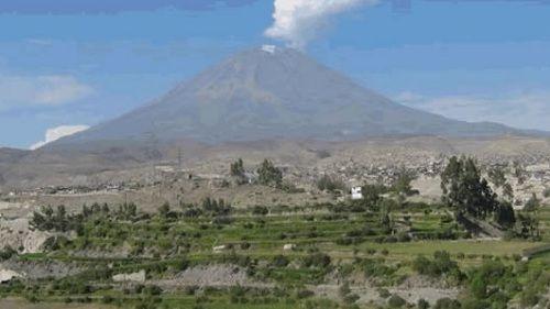 Перуанский вулкан уайнапутина