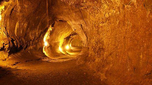 Пещера вулканического происхождения С7