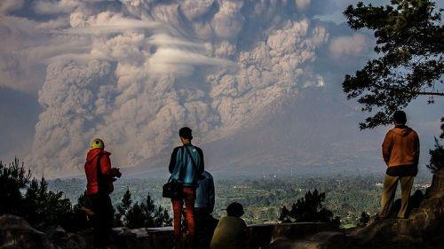 Извержение вулкана Синанбуг