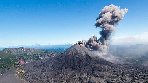 Камчатский вулкан Жупановский